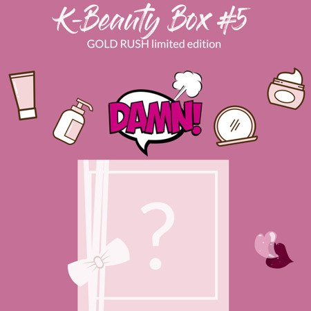 K-Beauty Box Gold Rush #5 PRESALE - limited edition
