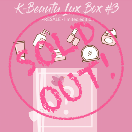 K-Beauty LUX Box #3 PRESALE - limited edition