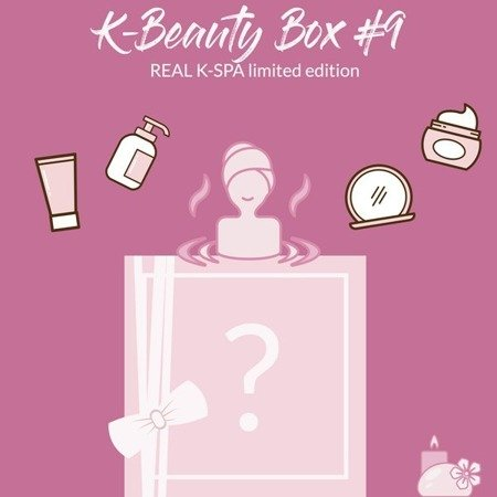 K-Beauty REAL K-SPA Box #9 PRESALE - limited edition