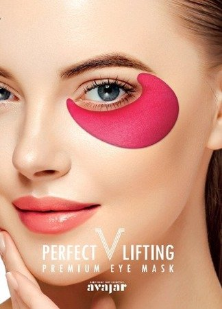Liftingujące płatki pod oczy 4 sztuki (PERFECT V LIFTING PREMIUM EYE MASK) Avajar
