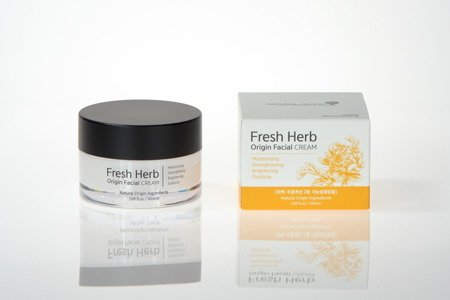 Odżywczy krem z różą jerychońską (Fresh Herb Origin Facial Cream) Natural Pacific